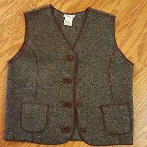 Talbots Wool Vest